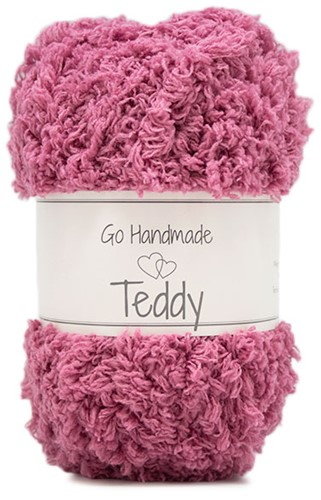 Go Handmade Teddy 78 Old Dark Rose