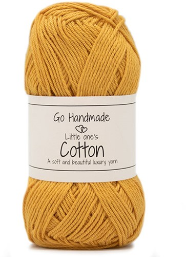 Go Handmade Little Ones Cotton 48 Warm Yellow