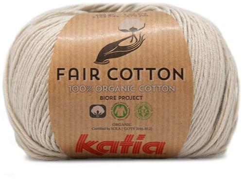 Katia Fair Cotton 11 Pearl Light Grey