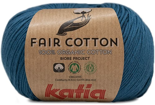 Katia Fair Cotton 38 Green-Blue