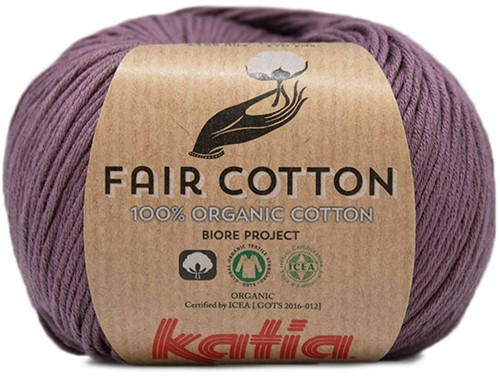 Katia Fair Cotton 39 Dark Purple