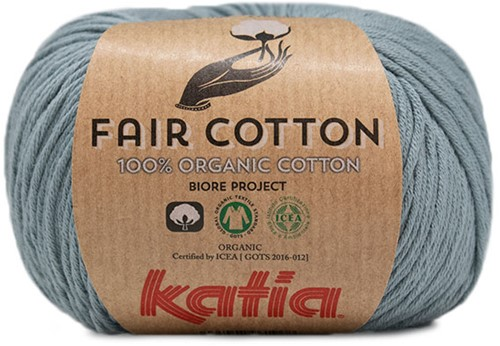 Katia Fair Cotton 41 Grey-Blue