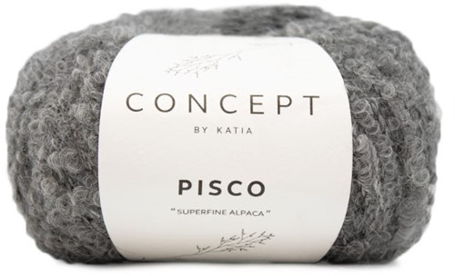 Katia Pisco 402 Medium grey