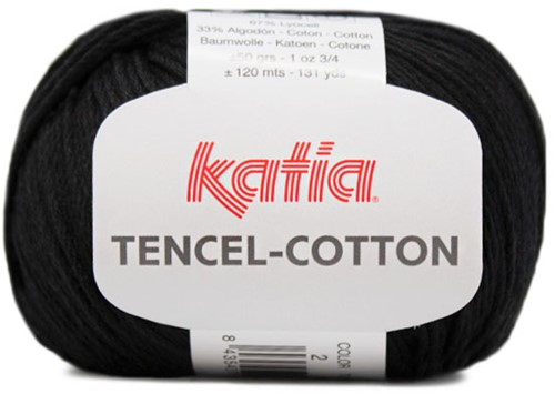 Katia Tencel-Cotton 002 Black