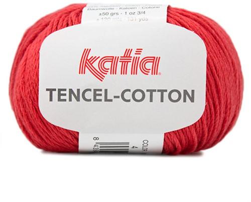 Katia Tencel-Cotton 004 Red