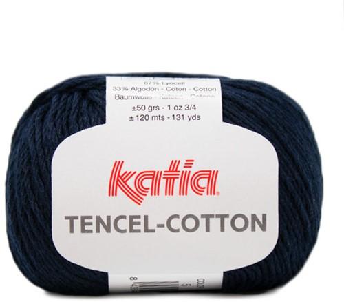 Katia Tencel-Cotton 005 Dark blue