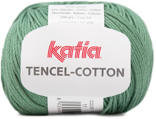 Katia Tencel-Cotton 011 Mint green