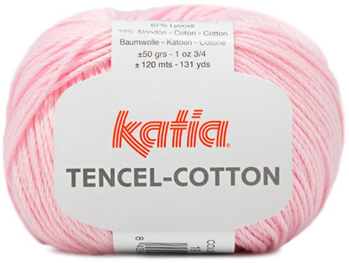 Katia Tencel-Cotton 019 Light pink