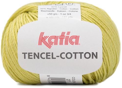 Katia Tencel-Cotton 027 Light pistachio