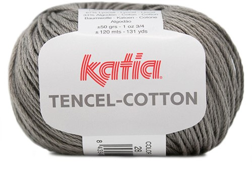 Katia Tencel-Cotton 028 Grey
