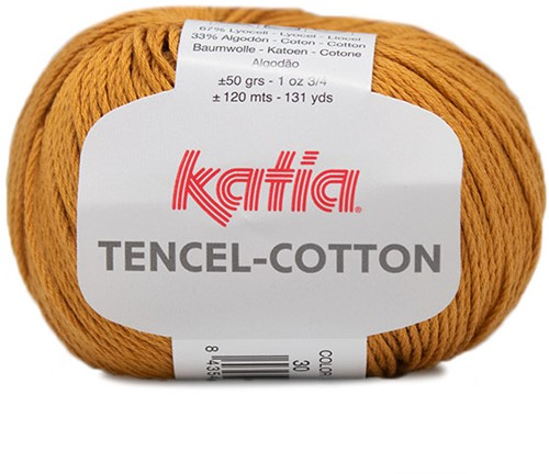Katia Tencel-Cotton 030 Mustard
