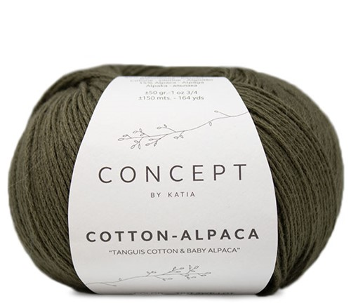 Katia Cotton Alpaca 101 Khaki
