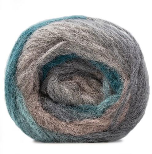 Katia Atmosfera 303 Rose / Stone grey / Green blue