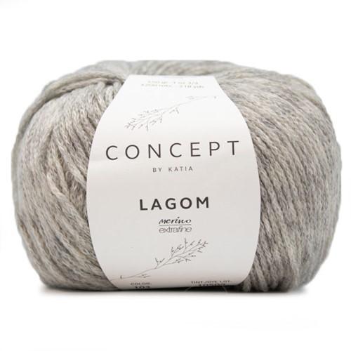 Katia Lagom 103 Light grey