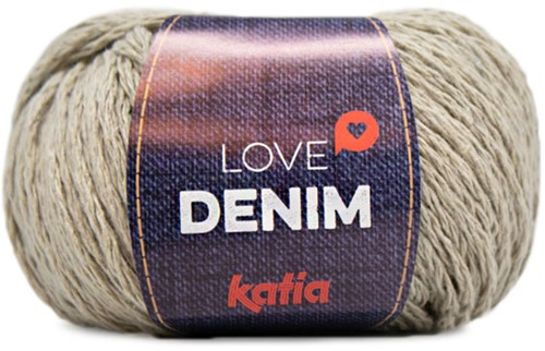 Katia Love Denim 104 Beige