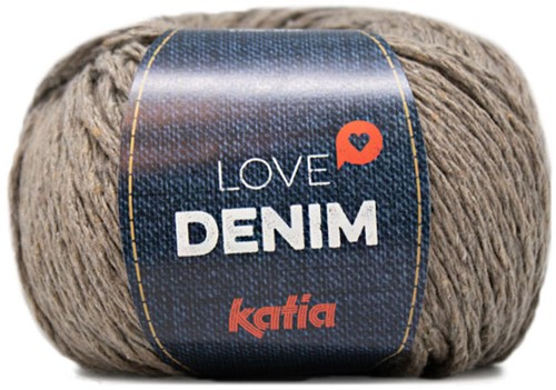 Katia Love Denim 105 Fawn brown