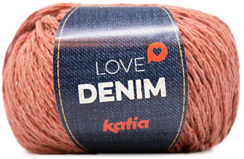 Katia Love Denim 107 Orange