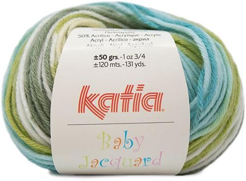 Katia Baby Jacquard 85 Green water