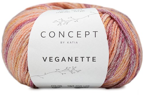 Katia Veganette 102 Rose-Wine / Red-Ochre