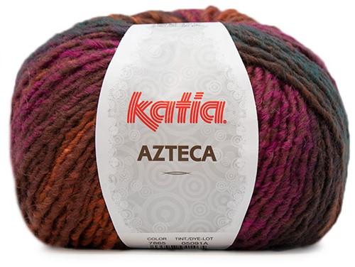 Katia Azteca 865 Orange/Bottle/Pale Red/Brown