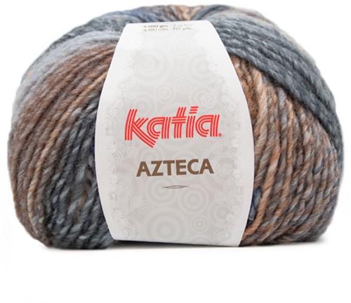 Katia Azteca 867 Blue/Brown/Grey