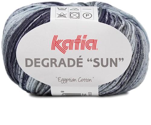 Katia Degradé Sun 255 Blue / Beige / Grey