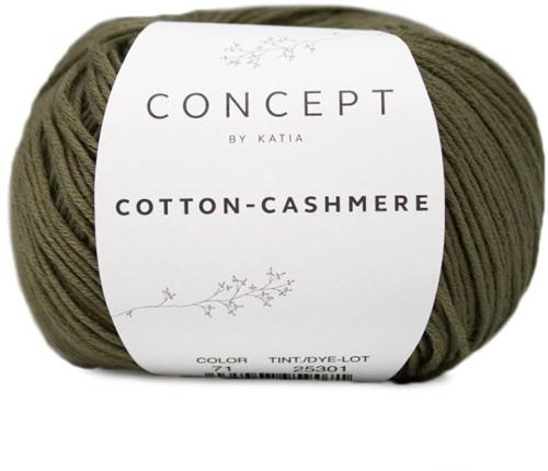 Katia Cotton Cashmere 71 Khaki