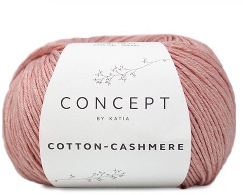 Katia Cotton Cashmere 72 Salmon Range