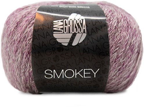 Lana Grossa Smokey 202 Red / Violet / Light Grey