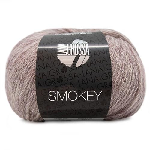 Lana Grossa Smokey 204 Beige / Pastel Violet / Grey