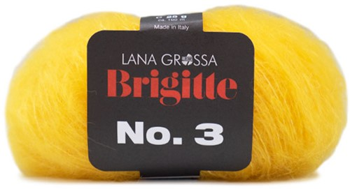 Lana Grossa Brigitte No.3 1 Yellow