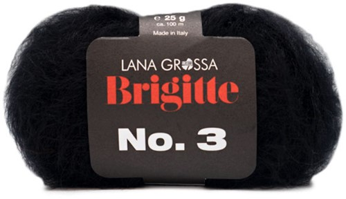 Lana Grossa Brigitte No.3 10 Black