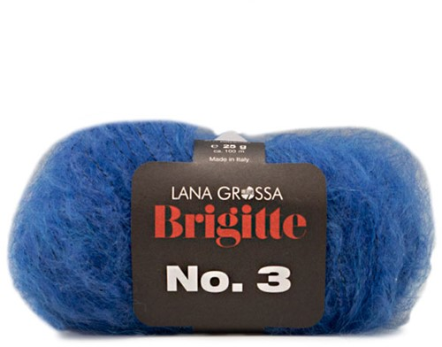 Lana Grossa Brigitte No.3 13 Blue