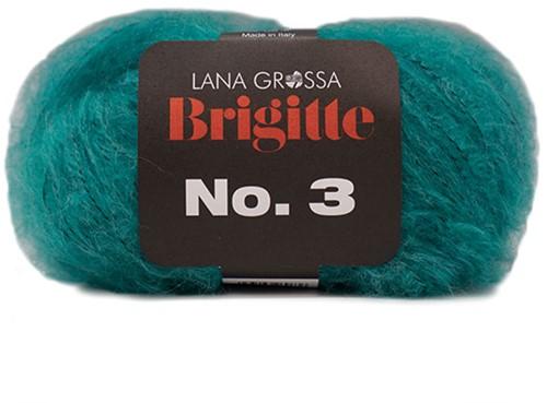 Lana Grossa Brigitte No.3 16 Petrol