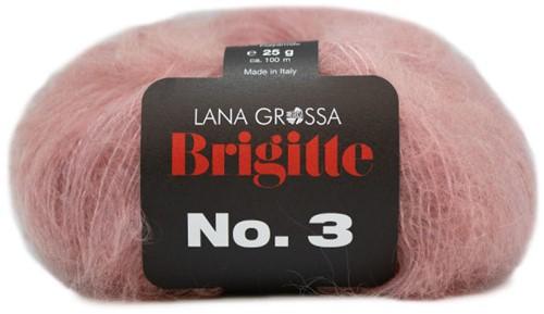 Bernadette Cardigan Karin Knitting Kit 2 Pastel Pink