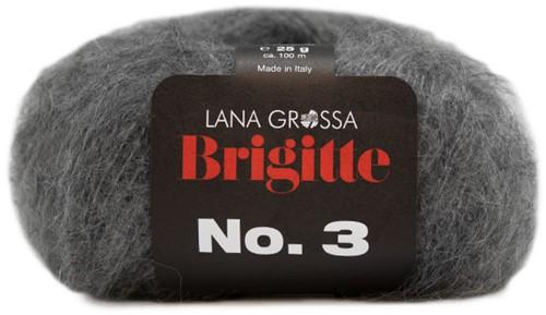 Bernadette Cardigan Karin Knitting Kit 3 Grey