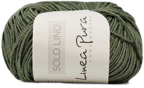 Lana Grossa Solo Lino 037 Khaki Green