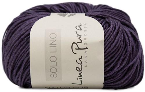 Lana Grossa Solo Lino 040 Dark Violett