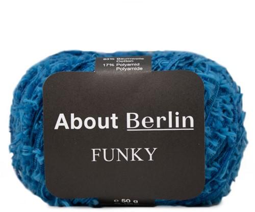 Lana Grossa About Berlin Funky 011 Gentian Blue
