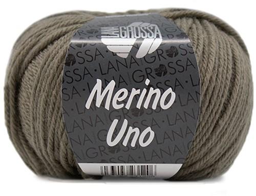 Lana Grossa Merino Uno 019 Green-Grey