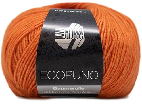 Lana Grossa Ecopuno 005 Jaffa Orange