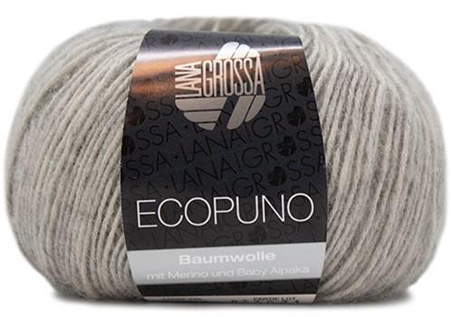 Lana Grossa Ecopuno 014 Light Grey