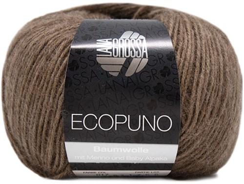 Lana Grossa Ecopuno 017 Dark Brown