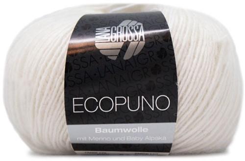 Lana Grossa Ecopuno 026 White