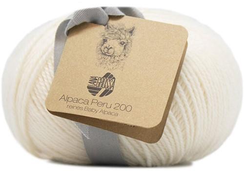 Lana Grossa Alpaca Peru 200 219 White