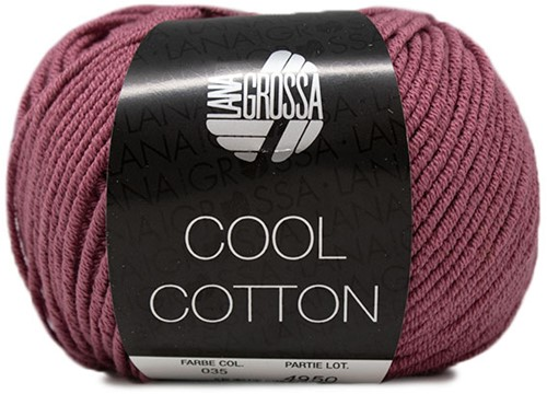 Lana Grossa Cool Cotton 35 Heather