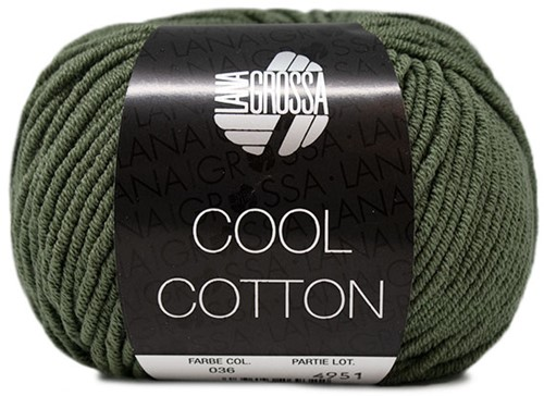 Lana Grossa Cool Cotton 36 Oleander Green