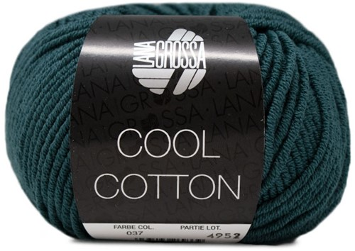 Lana Grossa Cool Cotton 37 Dark Petrol