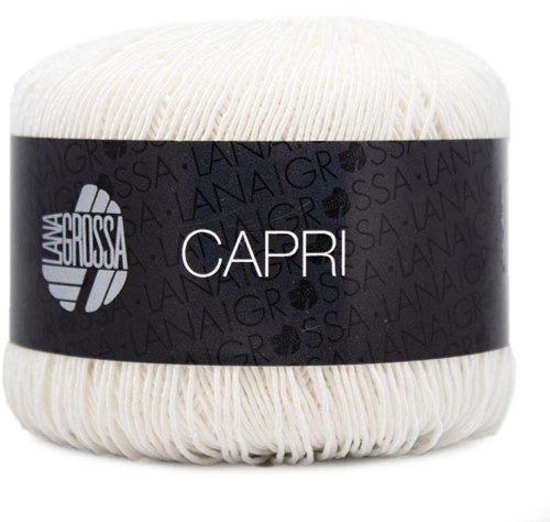 Lana Grossa Capri 001 White
