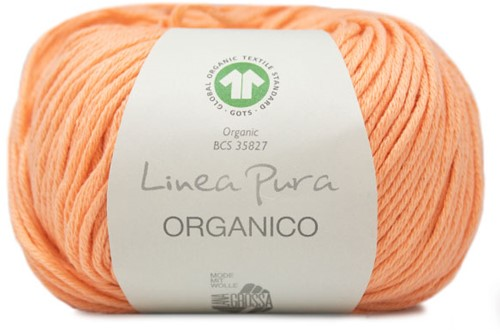 Lana Grossa Organico Uni 122 Apricot